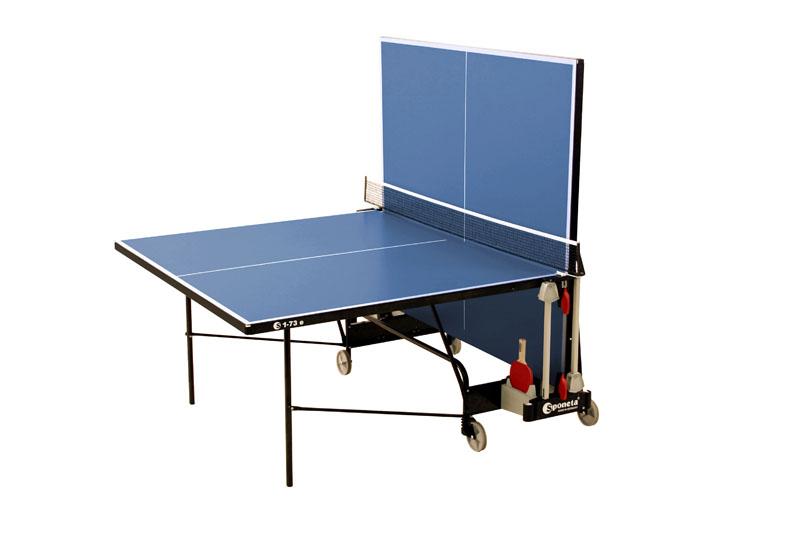 sponeta s 1 73 e outdoor tischtennisplatte blau sport klaus. Black Bedroom Furniture Sets. Home Design Ideas