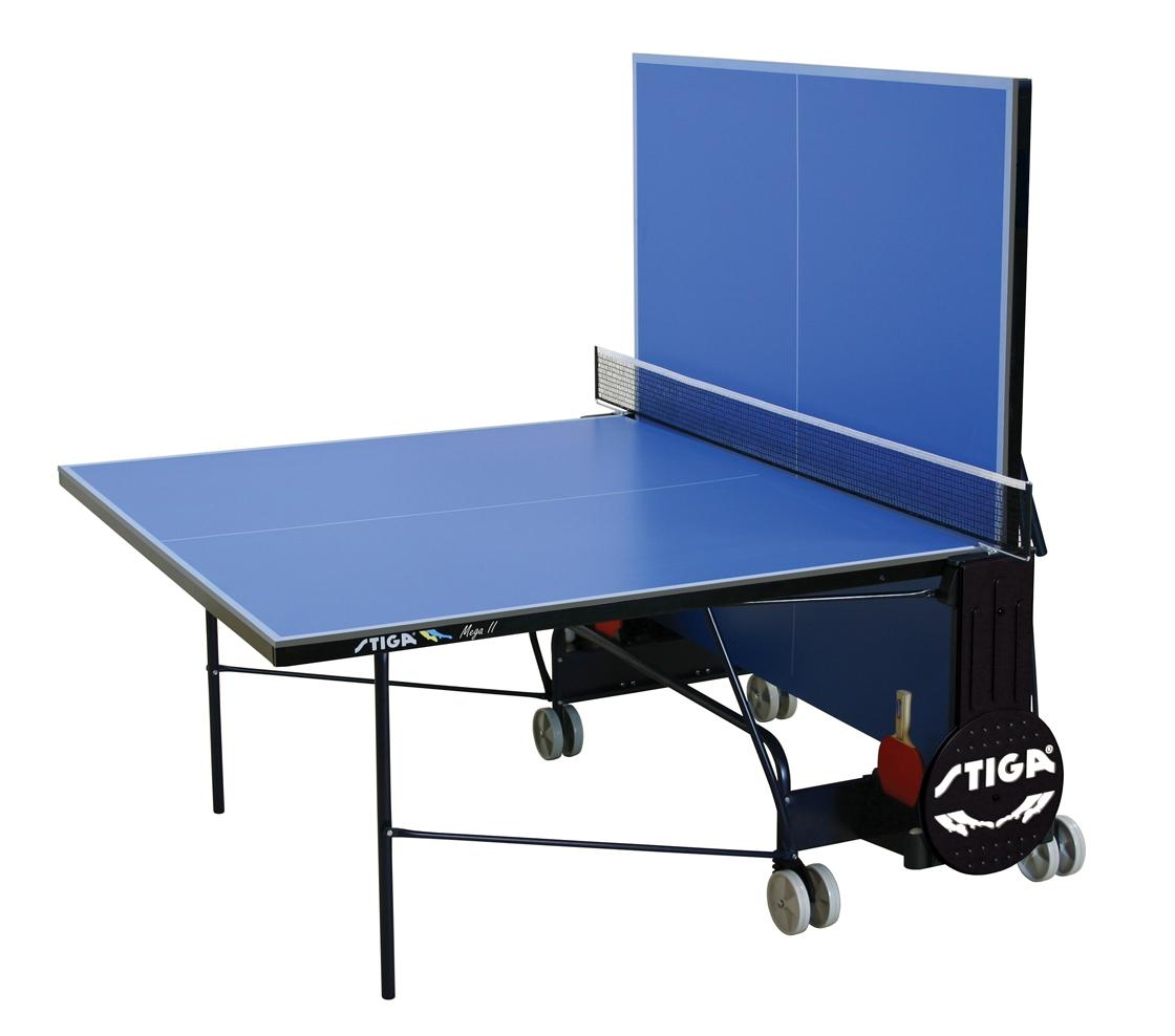 stiga mega ii indoor tischtennisplatte tischtennistisch sport klaus. Black Bedroom Furniture Sets. Home Design Ideas
